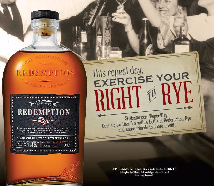 Redemption Rye Cocktail Competition NOW LIVE!